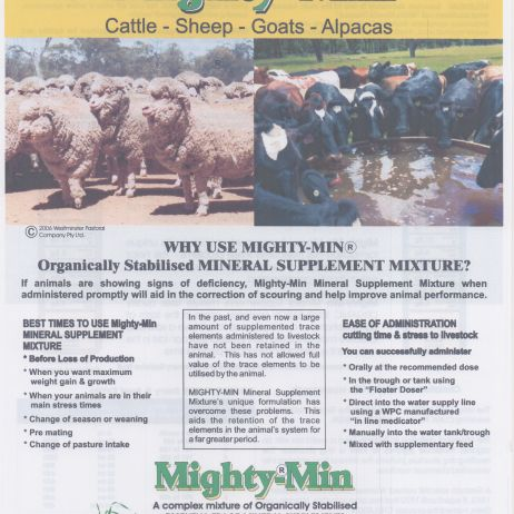 Mighty Min with AD&E for Ruminants