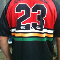 Sublimated Rugby  Union Jersey - Canterbury
