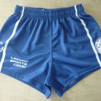 Sublimated Rugby League shorts