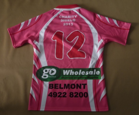 Fully sublimated Rugby League Jersey