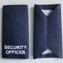 Security Eppaulettes for NSC Security.  Newcastle Security.