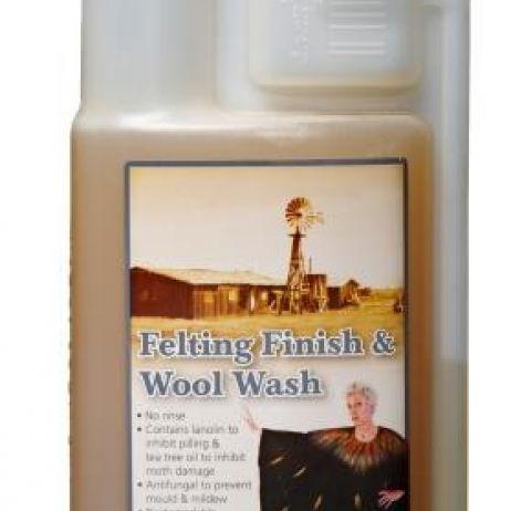 TANTECH FELTING FINISH & WOOL WASH 500ml