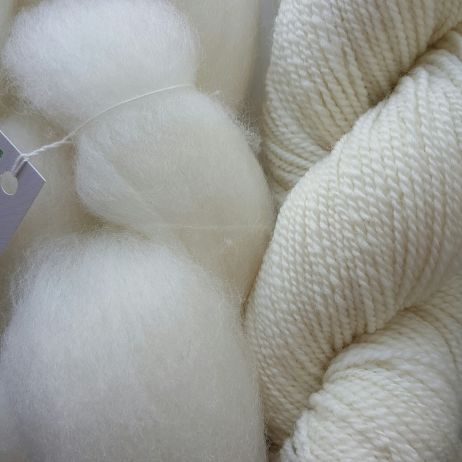 Australian ABP#13 COMBED WOOL TOP WHITE CORRIEDALE 200g pack