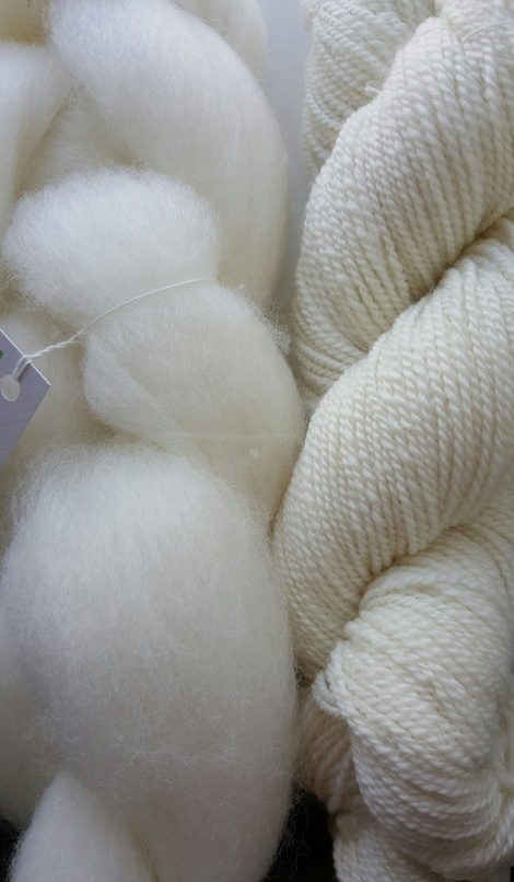 Australian ABP COMBED WOOL TOP WHITE CORRIEDALE 200g pack