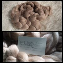 Australian CORRIEDALE and MERINO BLEND Combed Top 200g