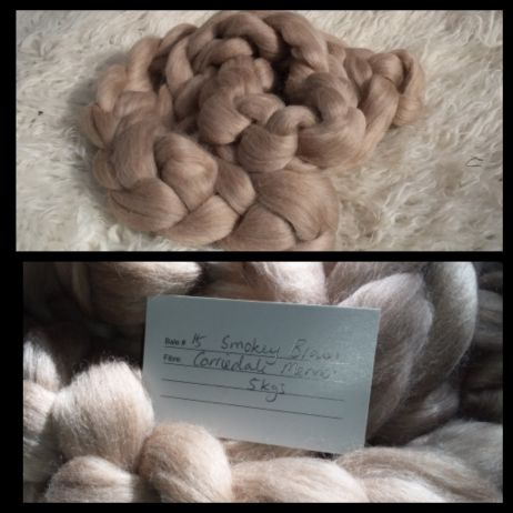 CORRIEDALE and MERINO BLEND Combed Top 200g