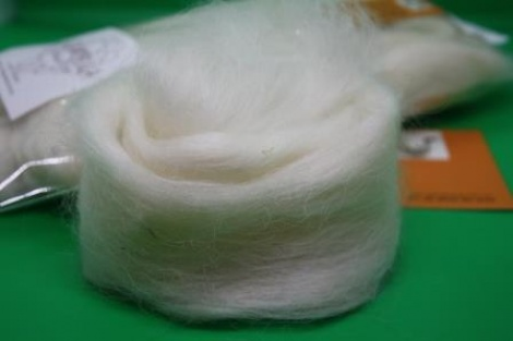 Australian Grown and Processed LINCOLN Sliver/Combed Top ~ Natural White