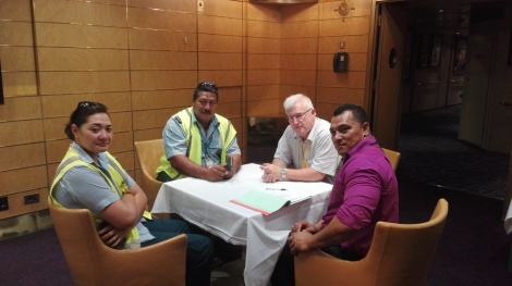 Training in Border Health requirements Tonga