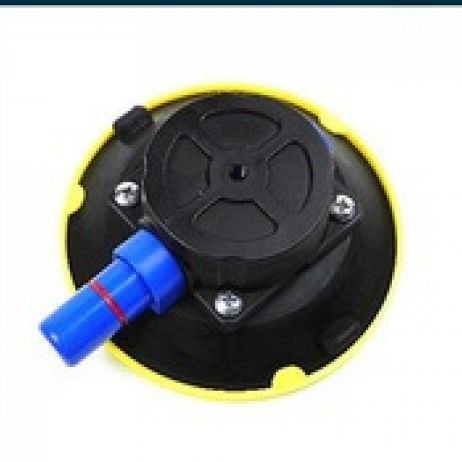 "4.5"" Push Button Suction Cup with 3/8""  threaded Hole"