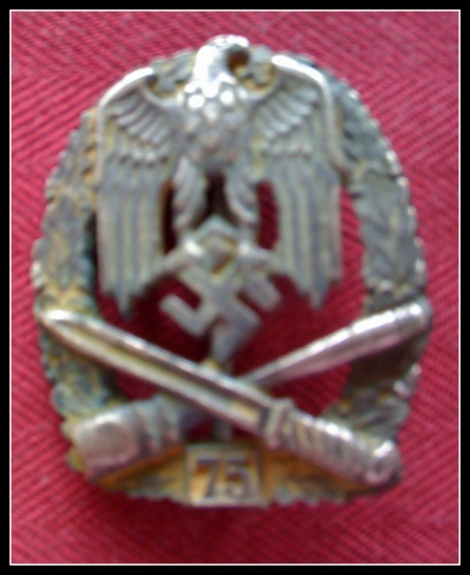 ARMY GENERAL ASSAULT BADGE