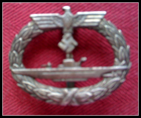 GERMAN SUBMARINER'S BADGE