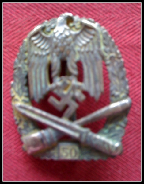 GERMAN ARMY GENERAL ASSAULT BADGE
