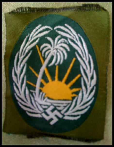GERMAN ARMY ORIENT KORP BADGE