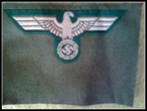 GERMAN ARMY CAP EAGLE