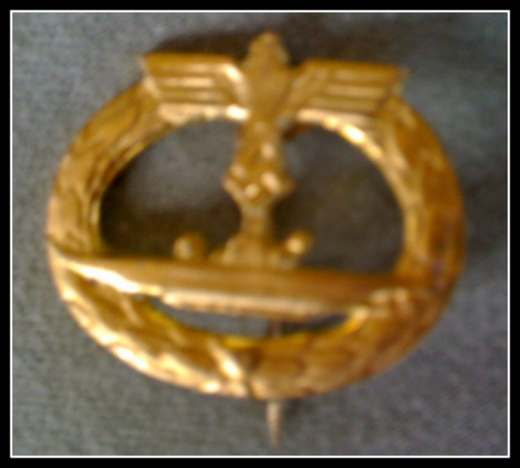 GERMAN NAVY SUBMARINER'S BADGE