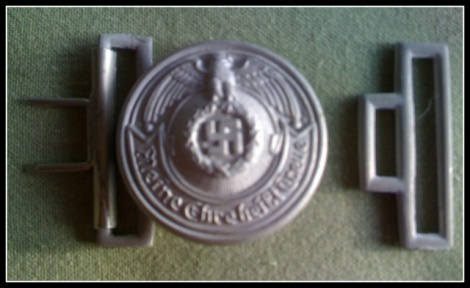 SS OFFICER'S 2 PIECE BUCKLE
