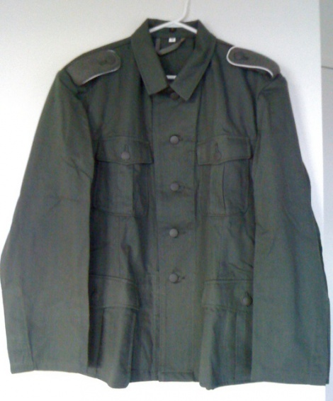 WW2 GERMAN HBT M40 TUNIC