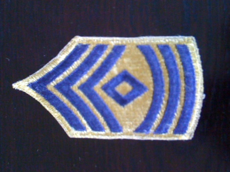WW2  US RANK STRIPE