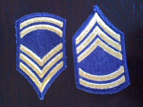 WW2  US RANK STRIPES