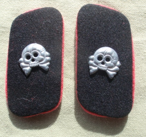 PANZER BLACK COLLAR PATCHES