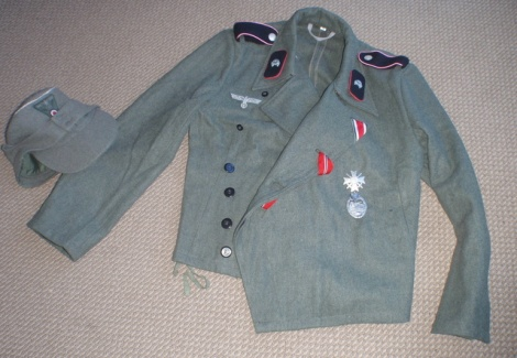 PANZER UNIFORM Reproduction