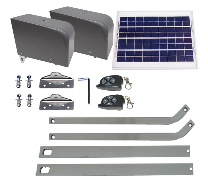 Double Swing Solar Kit Letron Auto Gates Aust P L
