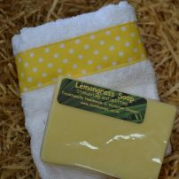 Soap & Facecloth Set- Lemongrass