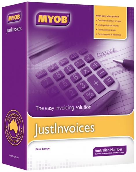 Myob Just Invoices