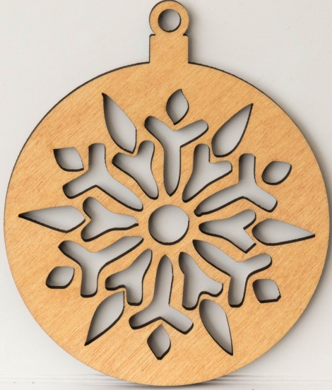8 x Birch Ply decoration - mixed designs