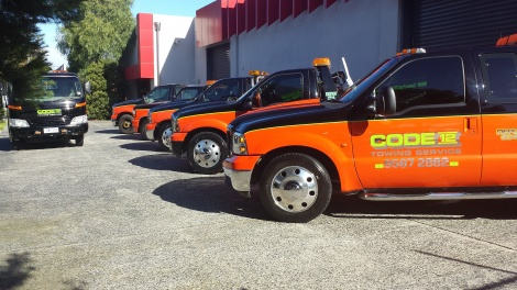 F350'S ON STANDBY