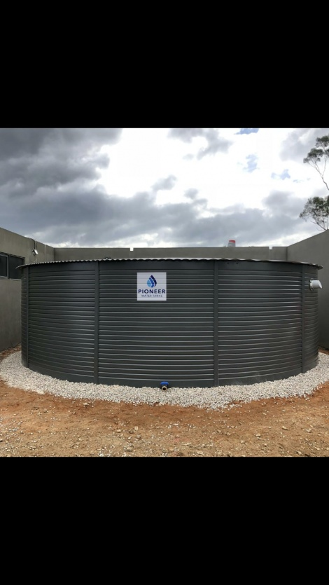 Pioneer Water Tank 110,000 litre with 10,000 CFA reserve