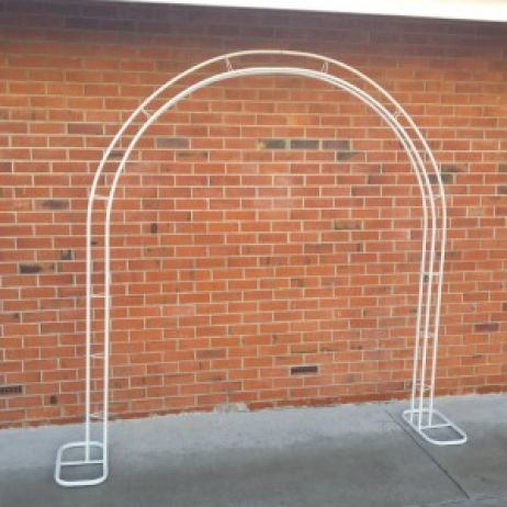 White Wedding Arch Frame