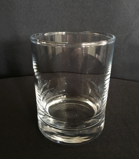 Clear Spirits Drink Glass