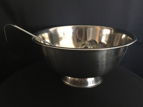 Punch Bowl and Ladle
