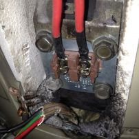 Hot Water Service burnt out