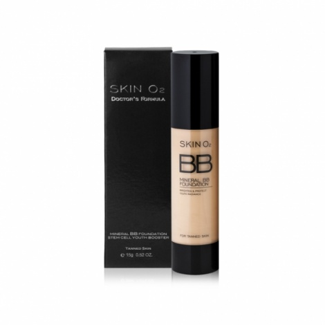 Skin O2 BB Mineral Foundation Tanned50ml by Skin O2