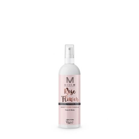 ORGANIC ROSE FLOWER TANNING WATER FOR FACE & BODY