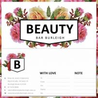 $80.00 Beauty Bar Burleigh Gift Voucher