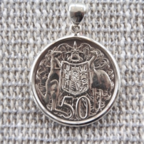 Round 1966 50c in sterling silver