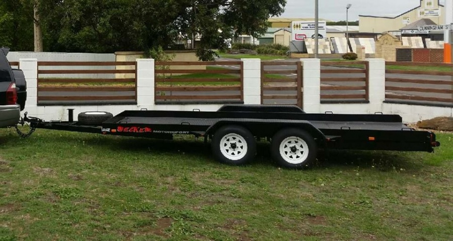 4 8m Heavy Duty Car Trailer Diverse Transport Fabrications