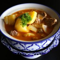 Massaman curry beef (Med)