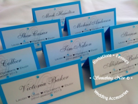 VICTORIA - PLACE CARD