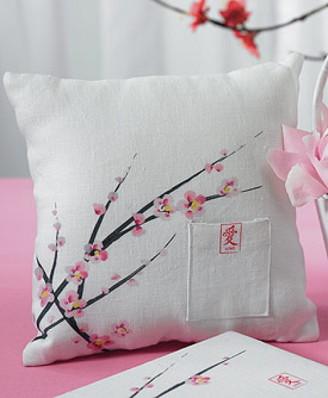 CHERRY BLOSSOM RING PILLOW