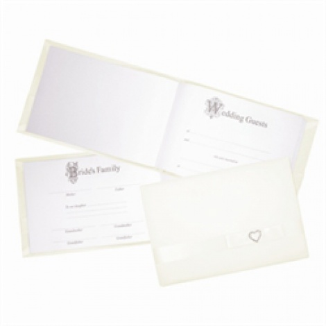 GUEST BOOK IVORY