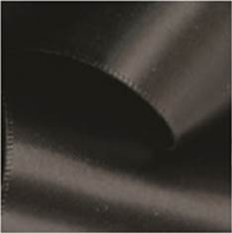 9MM SATIN RIBBON - BLACK