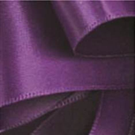 9MM SATIN RIBBON - PURPLE