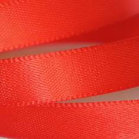 9MM SATIN RIBBON - RED