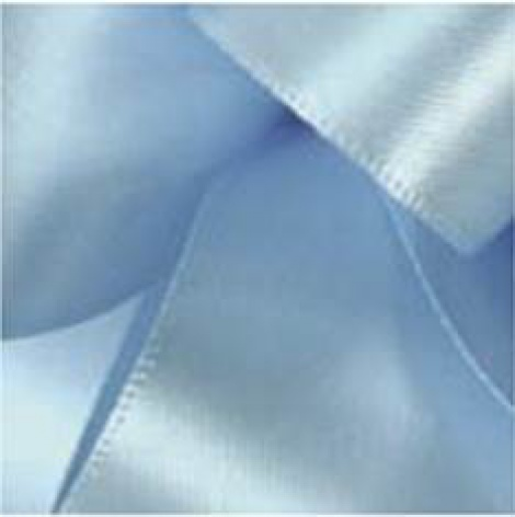 9MM SATIN RIBBON - SOFT BLUE