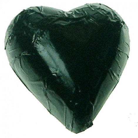 CHOCOLATE HEART BLACK 500G