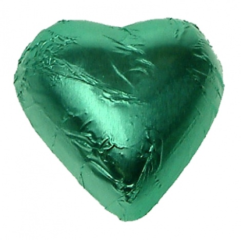 CHOCOLATE HEART ICE GREEN 500G